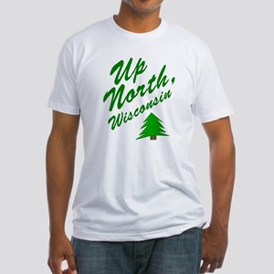 Up North Wisconsin Fitted T-Shirt