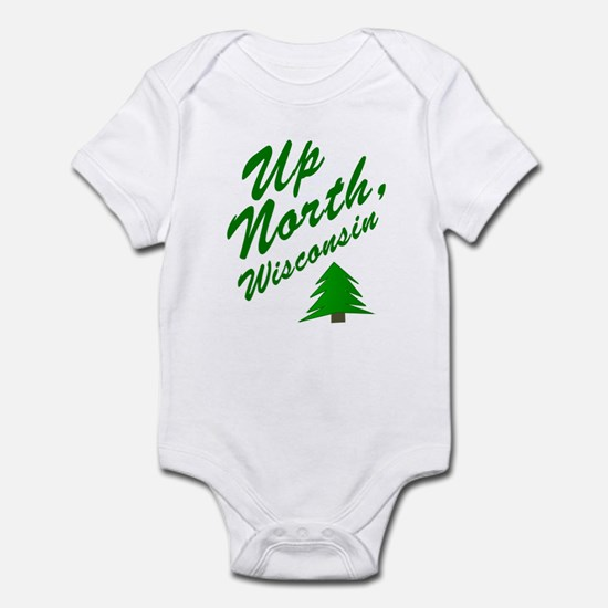 Up North Wisconsin Infant Bodysuit