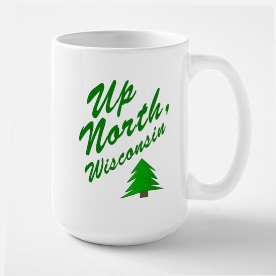 Up North Wisconsin Large Mug