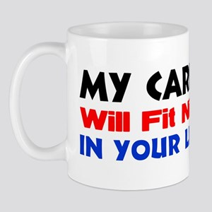 """My Carbon Footprint"" Mug"
