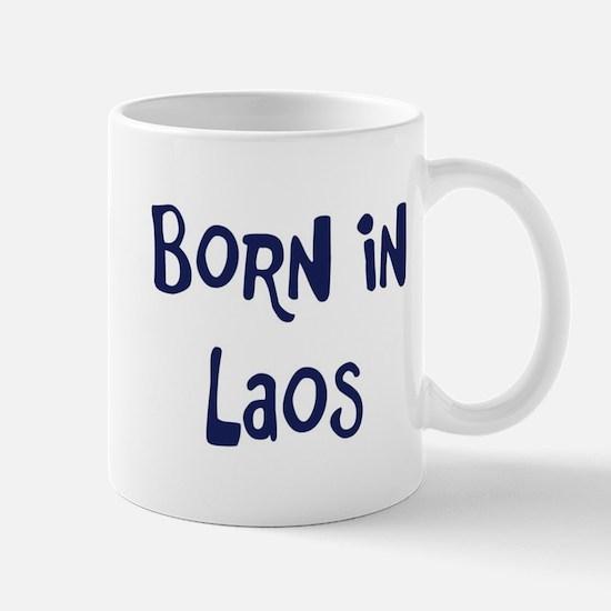 Born in Laos Mug