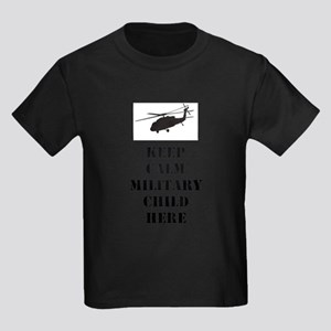 Military Child With Helo Light T-Shirt