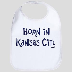 Born in Kansas City Bib