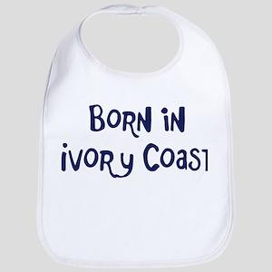 Born in Ivory Coast Bib