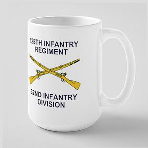 128th Infantry <BR>WWII Veteran Mug