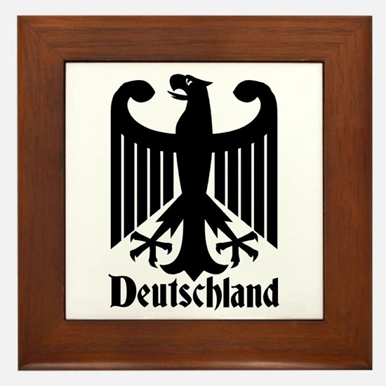 Deutschland - Germany National Symbol Framed Tile