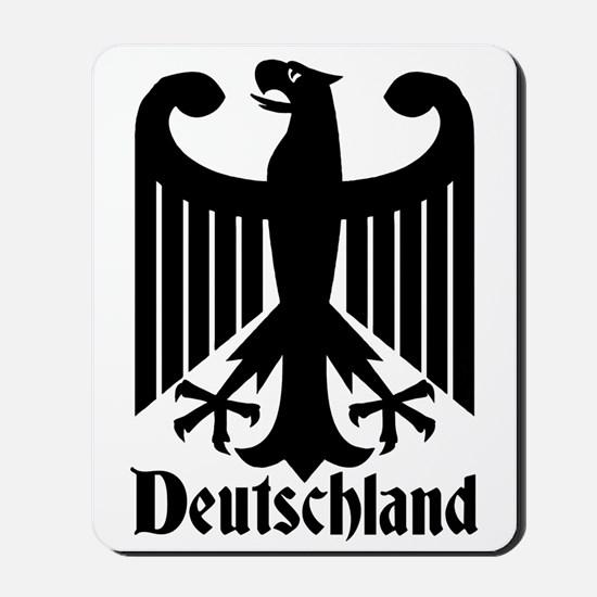 Deutschland - Germany National Symbol Mousepad