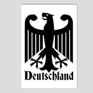 Deutschland - Germany National Symbol Postcards (P