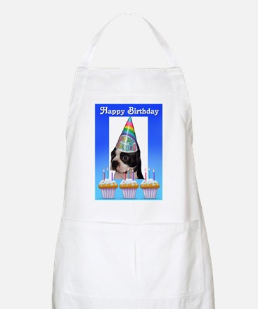 HAPPY BIRTHDAY DOG BBQ Apron