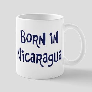 Born in Nicaragua Mug