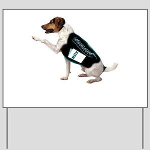 Dog Ate Homework Yard Sign