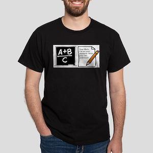Math shirt White T-Shirt