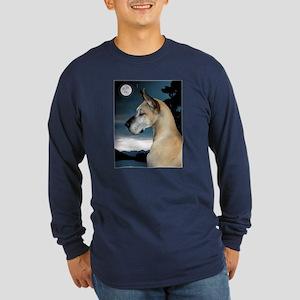 Fawn Great Dane (Electra) Long Sleeve Dark T-Shirt