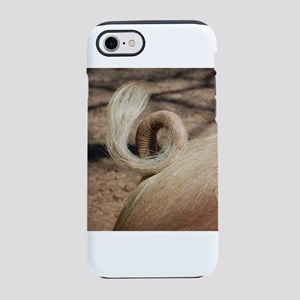 Pig tail iPhone 8/7 Tough Case
