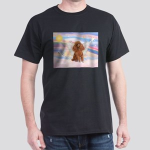 Angel/Poodle (apricot Toy/Min) Dark T-Shirt