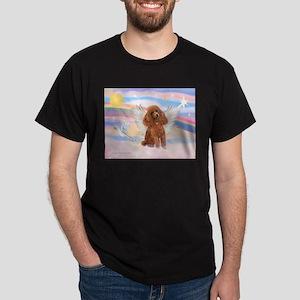 Angel/Poodle (apricot Toy/Min) Dark T-Shirt