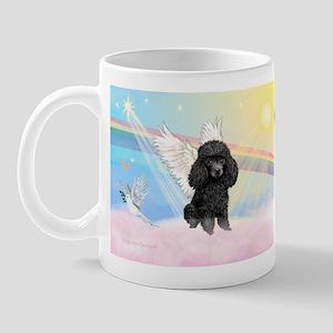 Angel /Poodle (blk Toy/Min) Mug