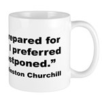 Churchill Martyrdom Quote Mug