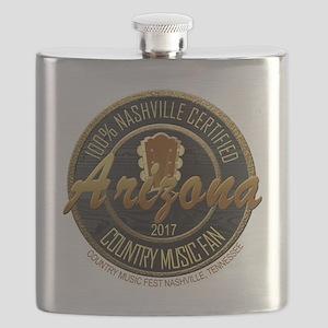 Arizona Country Music Fan Flask