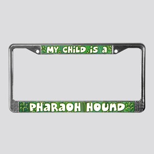 My Kid Pharaoh Hound License Plate Frame