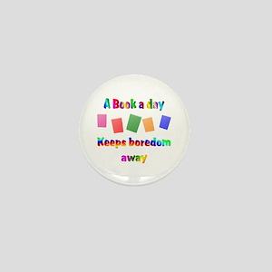 Boredom Away Mini Button