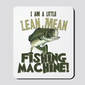 Lean Mean Fishing Machine Mousepad