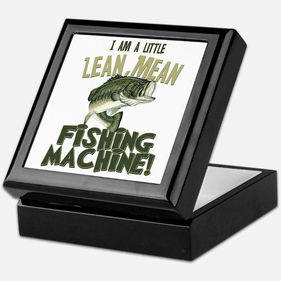 Lean Mean Fishing Machine Keepsake Box