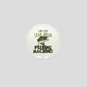 Lean Mean Fishing Machine Mini Button