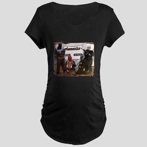 anti obama terrorist Maternity Dark T-Shirt