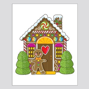 Gingerbread House Small Poster