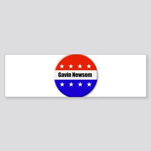 Gavin Newsom Bumper Sticker