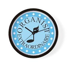 Organist Extraordinaire Wall Clock