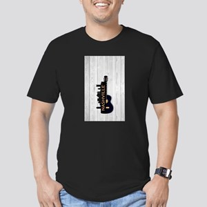 product name Men's Fitted T-Shirt (dark)