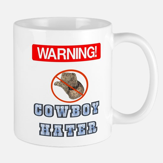 Warning! Cowboy Hater Mug