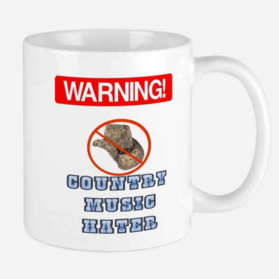 I Hate Country Music! Mug