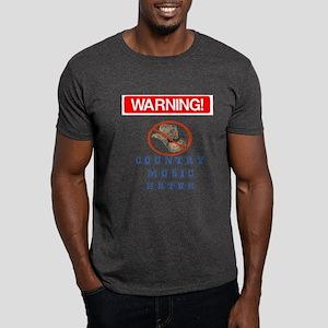 I Hate Country Music! Dark T-Shirt