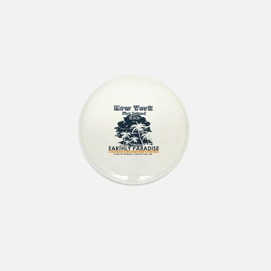 Cute Fire island Mini Button