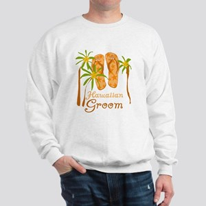 Hawaiian Groom Sweatshirt