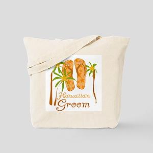 Hawaiian Groom Tote Bag
