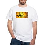 Airsoft Guns Expert White T-Shirt