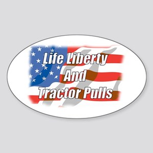 American Tractor Pulls Oval Sticker