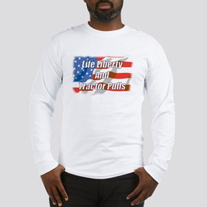 American Tractor Pulls Long Sleeve T-Shirt