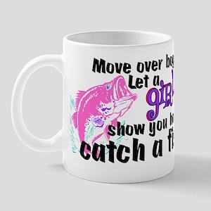 Move Over Boys - Fish Mug
