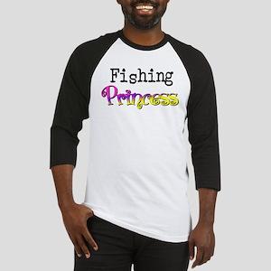 Fishing Princess Baseball Jersey