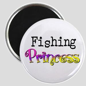 Fishing Princess Magnet