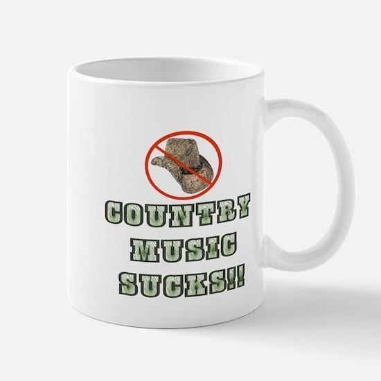 Country Music Sucks! Mug