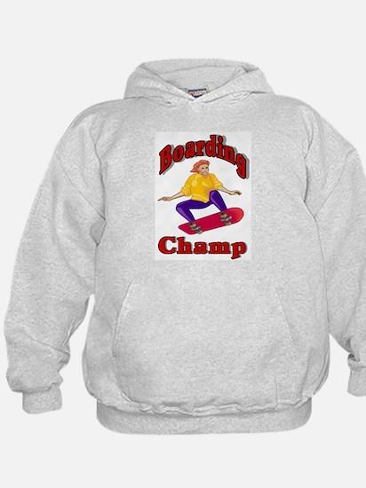 Skateboarding Champ Hoodie