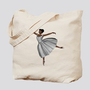 Ballerina Bride Tote Bag