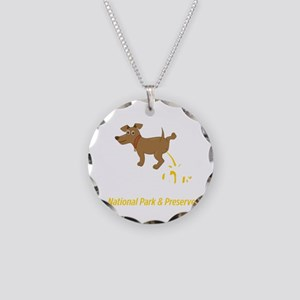 Funny Natioinal Park Great S Necklace Circle Charm