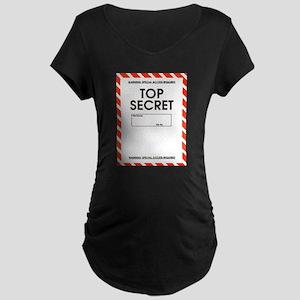 Top Secret Maternity Dark T-Shirt